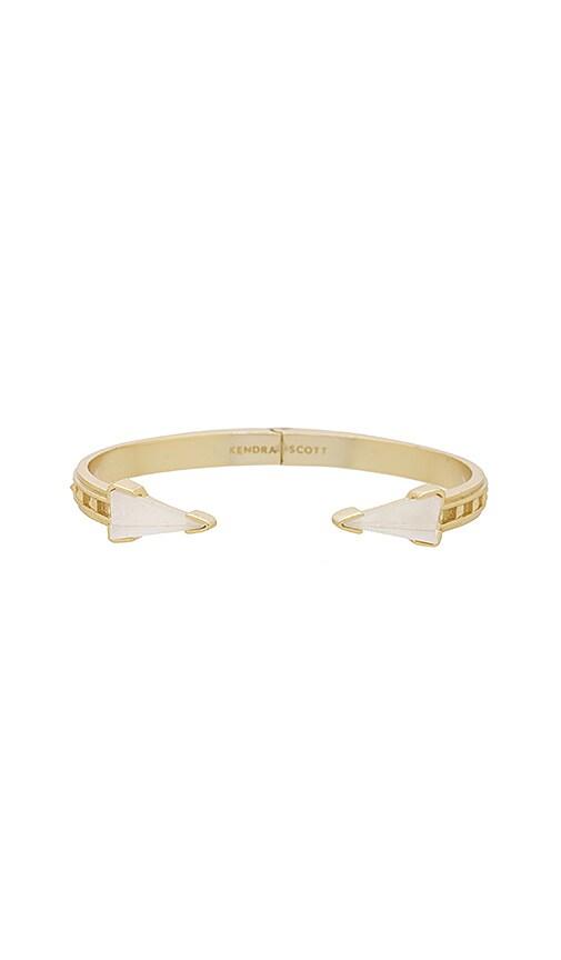 Kendra Scott Misty Hinge Bracelet in Metallic Gold