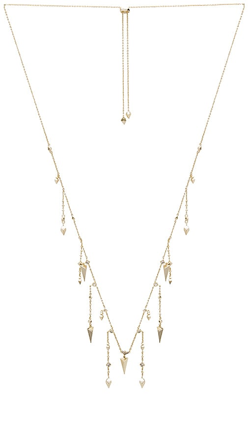 Kendra Scott Loralei Long Necklace in Metallic Gold