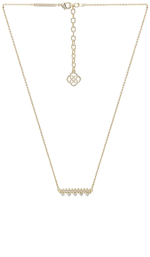 Kendra Scott Anissa Pendant Necklace in Metallic Gold