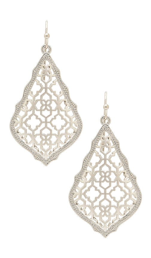 Kendra Scott Addie Earring in Metallic Silver