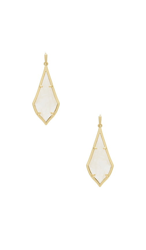 Kendra Scott Olivia Drop Earrings in Metallic Gold