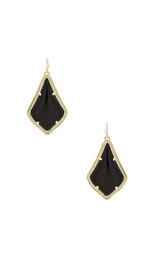 Kendra Scott Alex Earrings in Metallic Gold