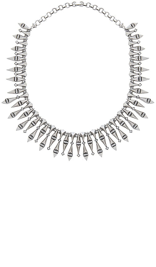 Kendra Scott Cici Statement Necklace in Metallic Silver