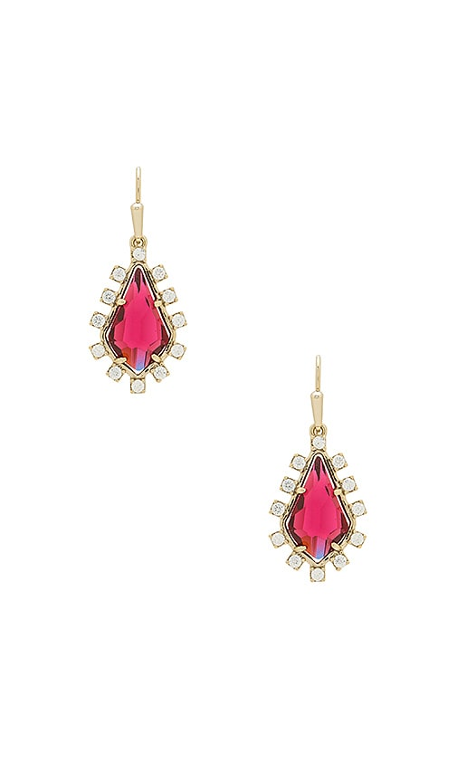 Kendra Scott Juniper Drop Earrings in Metallic Gold
