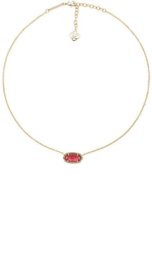 Kendra Scott Elisa Pendant Necklace in Metallic Gold