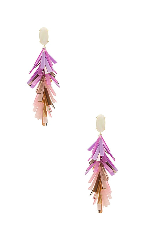 Kendra Scott Justyne Earrings in Pink