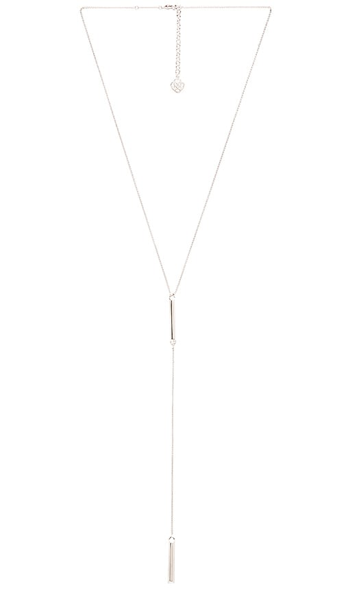 Kendra Scott Shelton Necklace in Rhodium & Metal