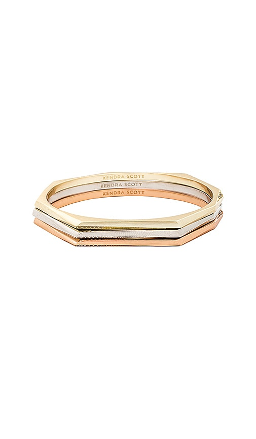 Kendra Scott Aubrey Bracelet in Metallic Gold