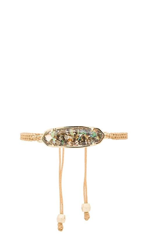 Kendra Scott Lyla Bracelet in Gold & Crushed Abalone