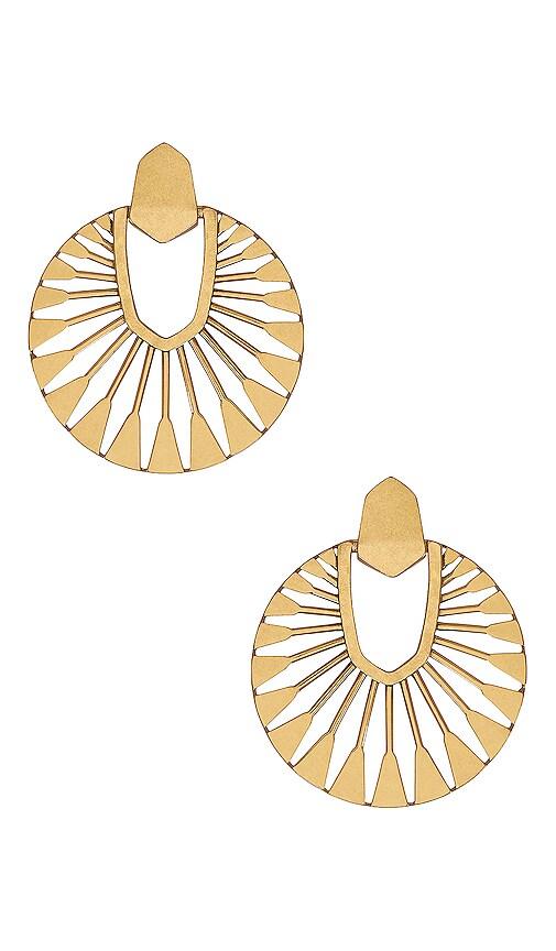 Didi Sunburst Drop Earrings