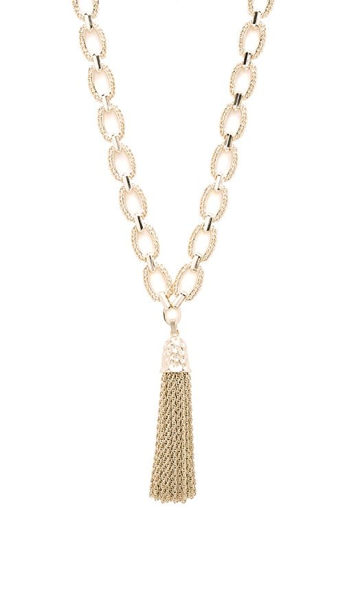 Kendra Scott Miller Necklace in Metallic Gold