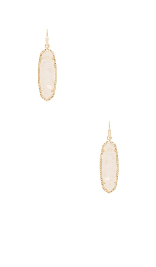 Kendra Scott Layla Earring in Metallic Gold