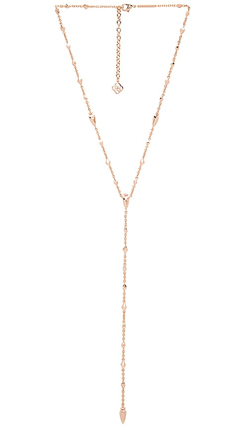Kendra Scott Grant Necklace in Metallic Copper