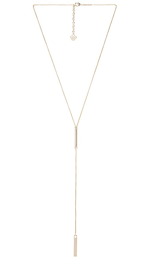Kendra Scott Shelton Necklace in Metallic Gold