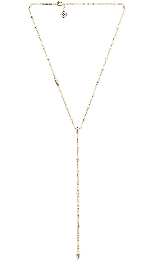 Kendra Scott Grant Necklace in Metallic Gold