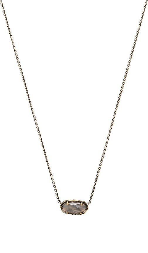 Kendra Scott Elisa Necklace in Metallic Bronze