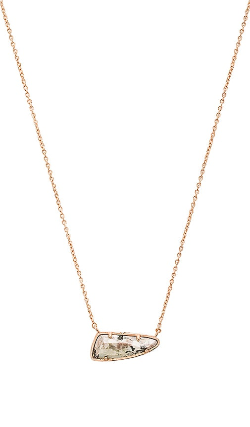 Kendra Scott Etta Necklace in Metallic Copper