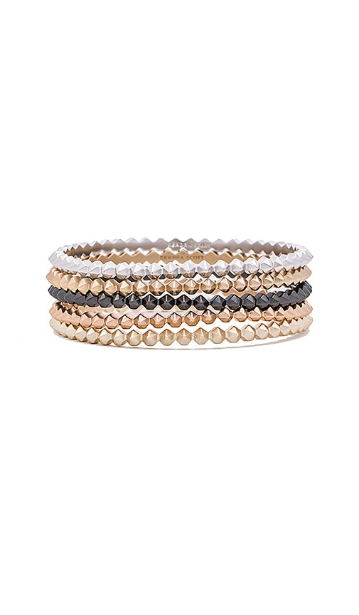 Kendra Scott Remy Bangles Set in Metallic Gold