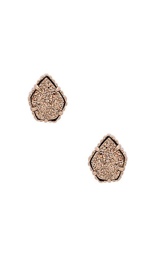 Kendra Scott Drusy Tessa Earring in Rose Gold & Rose Gold Drusy