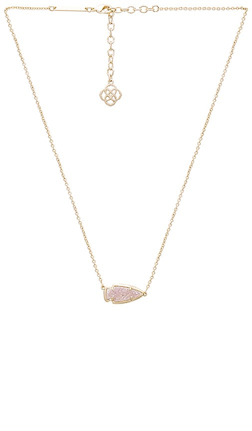 Kendra Scott Kasey Necklace in Metallic Gold e4EYl6