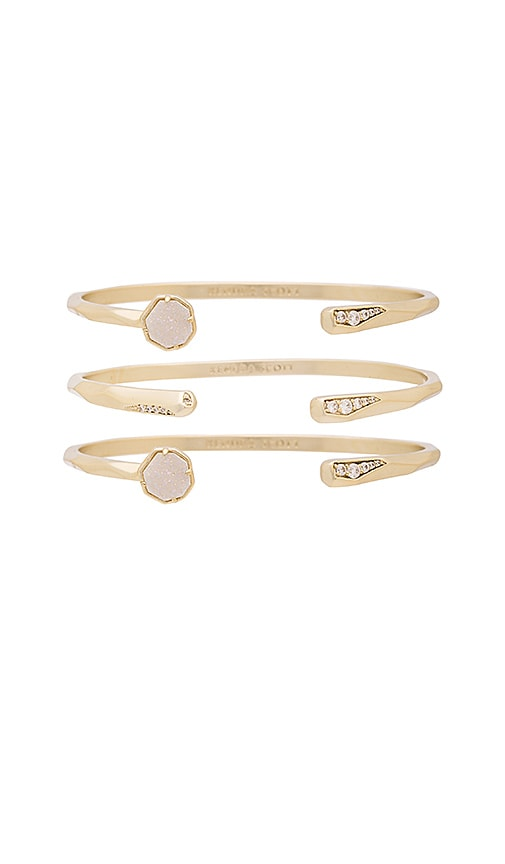 Kendra Scott Blake Bracelet in Metallic Gold