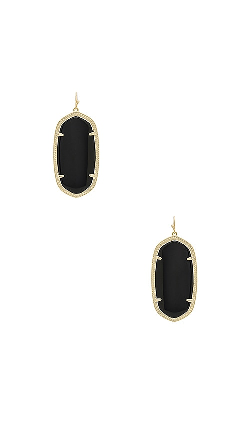 Kendra Scott Danielle Earrings in Metallic Gold