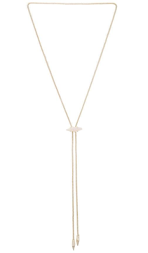 Kendra Scott Cheska Necklace in Metallic Gold