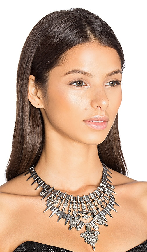 Kendra Scott Seraphina Necklace in Metallic Silver