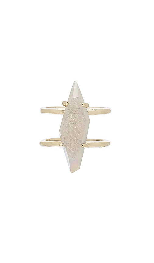 Kendra Scott Boyd Ring in Metallic Gold