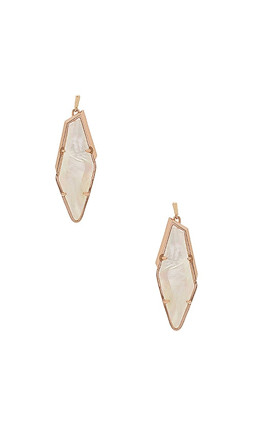 Kendra Scott Bexley Earring in Metallic Copper