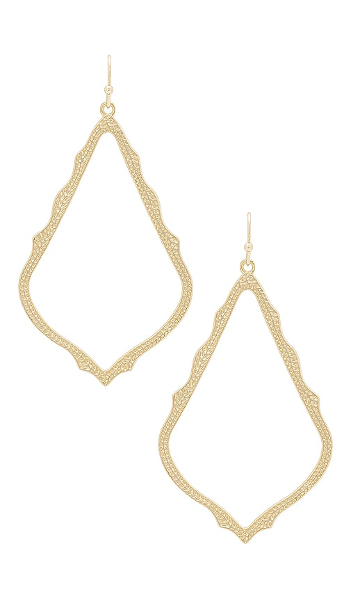 Kendra Scott Sophee Earrings in Metallic Gold