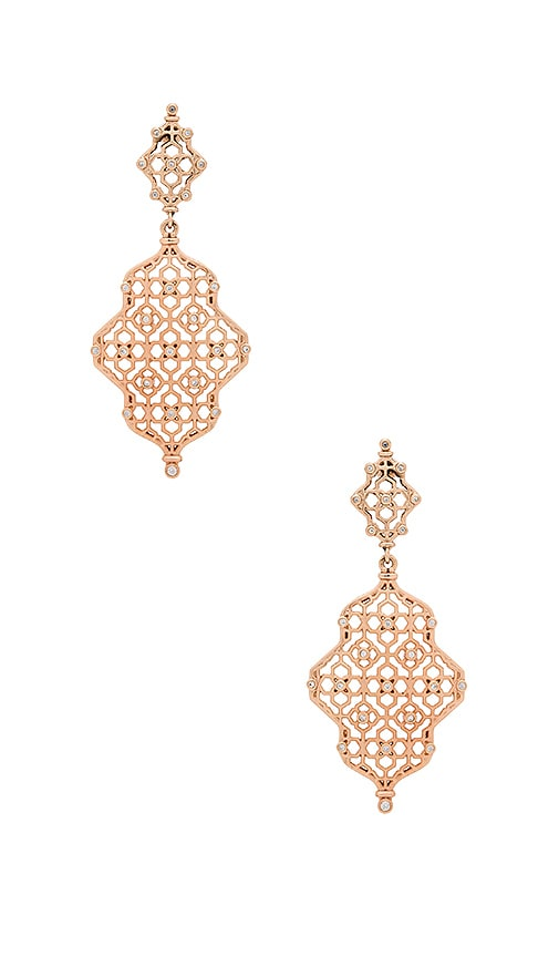 Kendra Scott Renee Earring in Metallic Copper