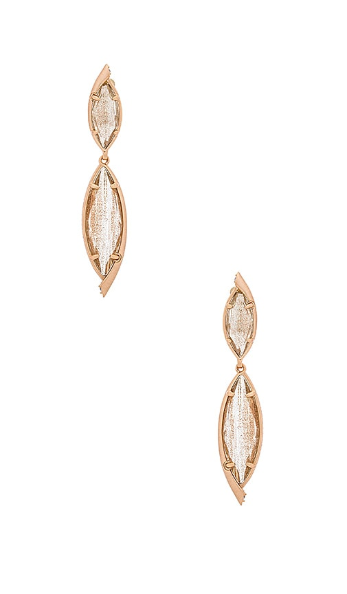 Kendra Scott Maisey Hourglass Earring in Metallic Copper