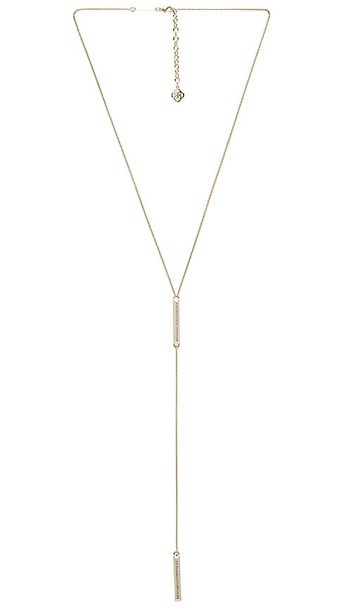 Kendra Scott Shea Necklace in Metallic Gold