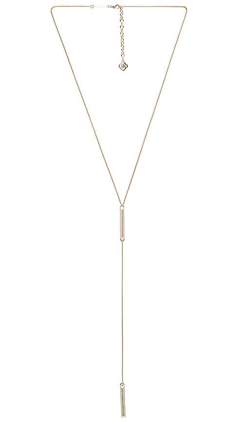 Kendra Scott Shea Necklace in Metallic Gold