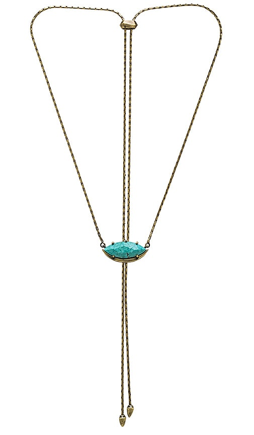 Kendra Scott Meghan Necklace in Metallic Gold