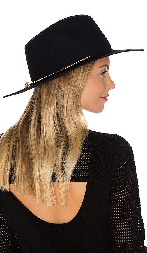 KIN/K Azalea Hat in Black