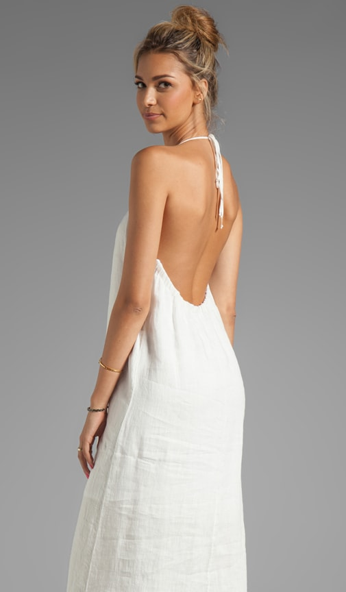 Halter Low Back Maxi Dress