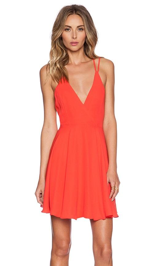 Cross Back Mini Dress