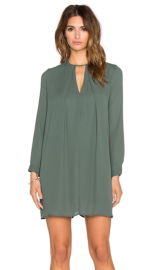 krisa Long Sleeve Swing Dress in Highland