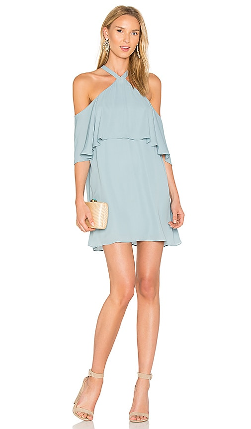 Off Shoulder Halter Dress