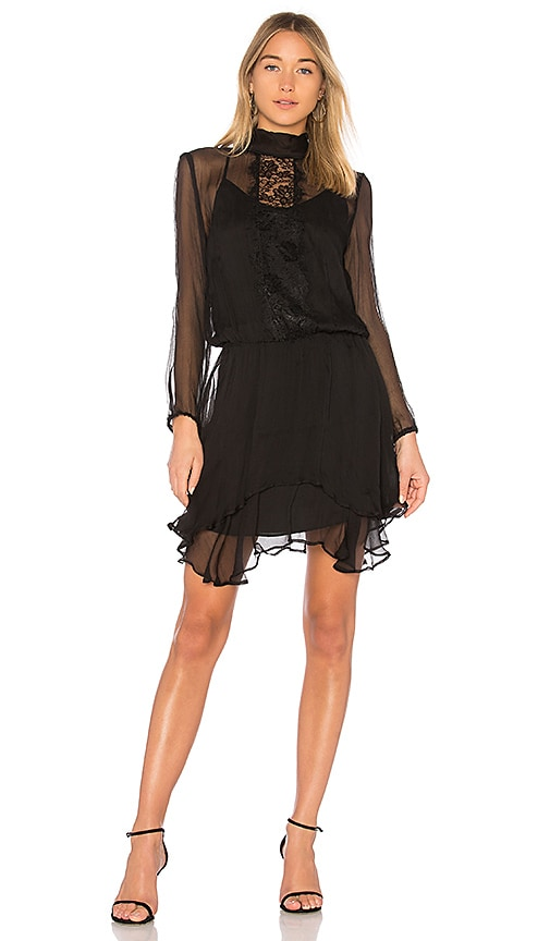 krisa Lace Dress in Black