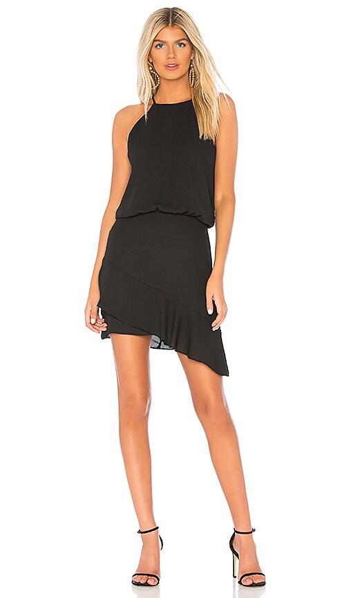 Halter High Low Mini Dress
