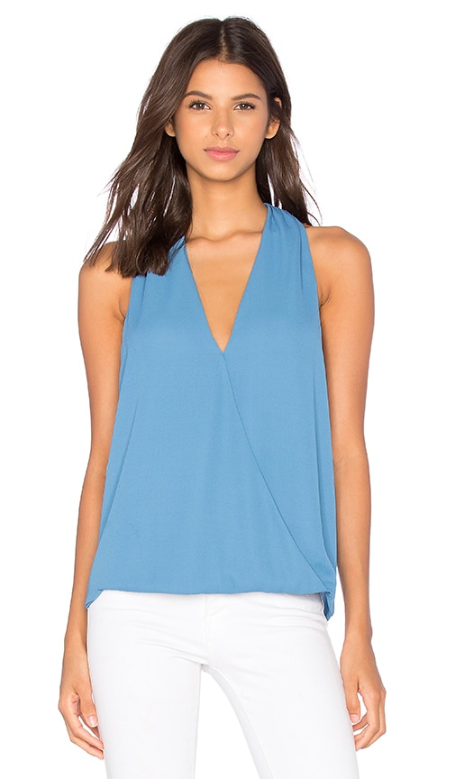 krisa Surplice Tank in Fountain