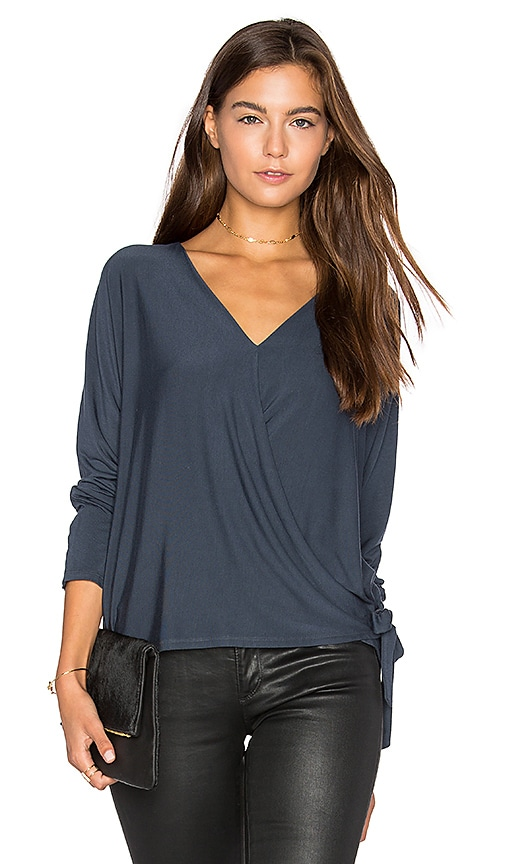 Wrap Surplice Top