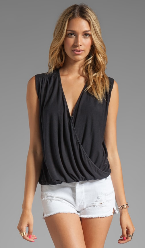 Surplice Draped Tank