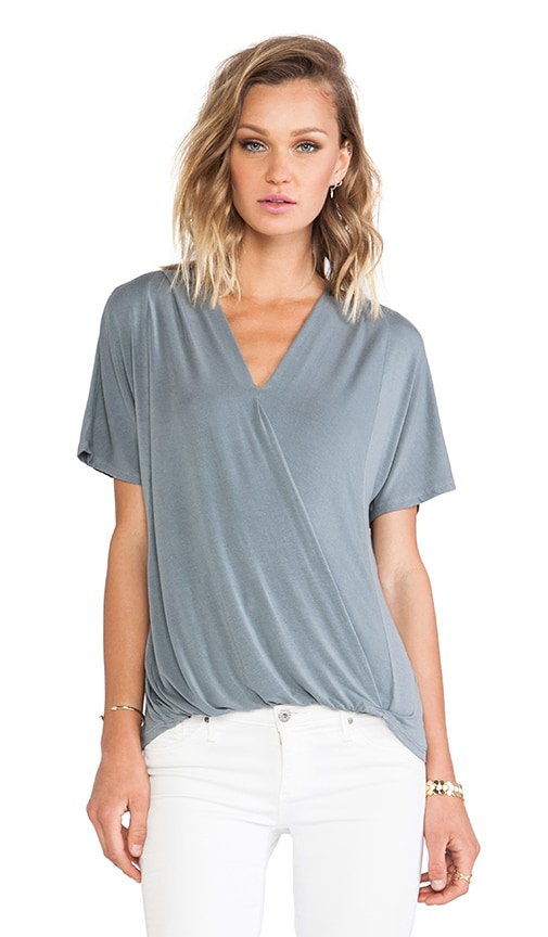 Surplice Short Sleeve Tee
