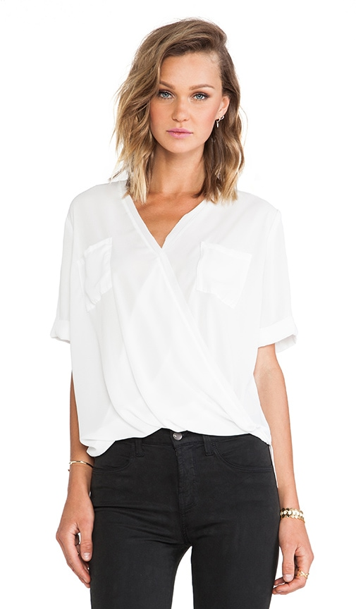 Pocket Surplice Tee