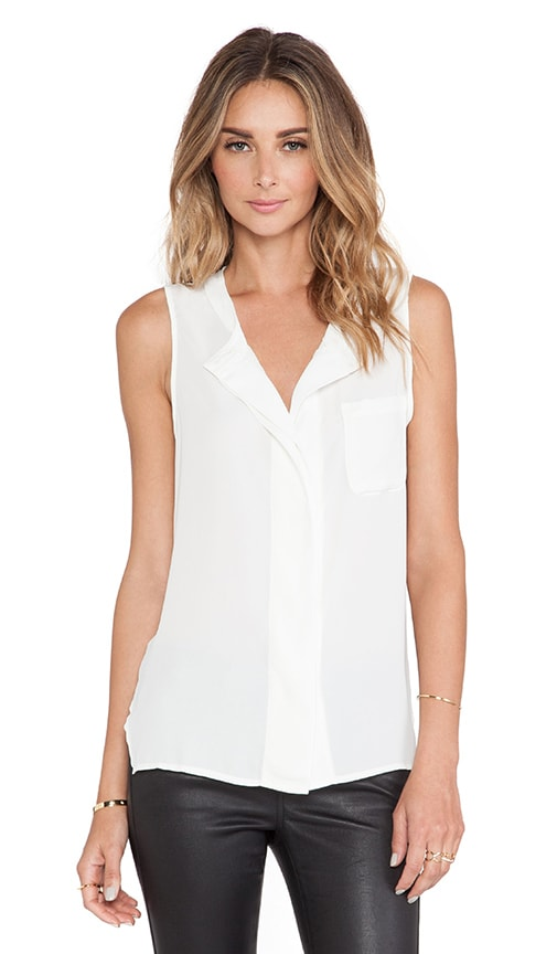Pocket Boyfriend Sleeveless Top