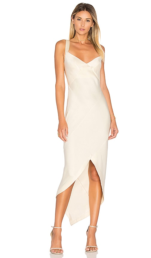 KITX Bias Slip Dress in Cream